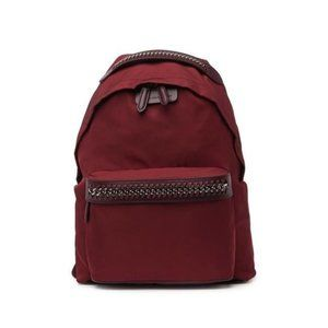Stella Mccartney Falabella Nylon Burgundy Backpack